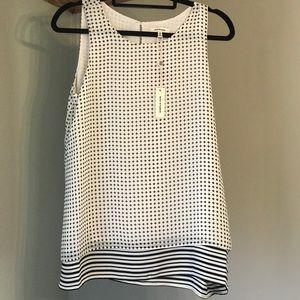 MAX Studio sleeveless top. New with tags!